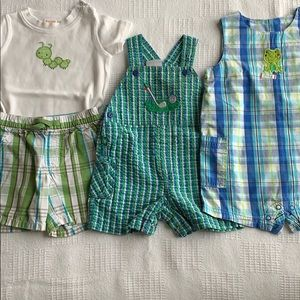 Small bundle of boys size 12-18 months